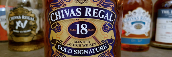 Chivas Regal 18-Year Gold Signature