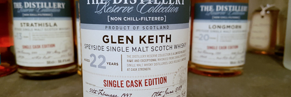 Glen Keith - 22-Year Reserve - Single Cask Edition