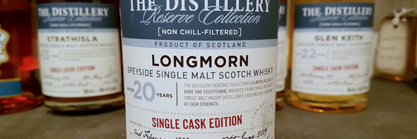 Longmorn - 20-Year Reserve - Single Cask Edition