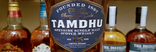Tamdhu 15-Year Sherry Oak Finish